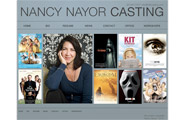Nancy Nayor Casting Site: Web Design & Dev.