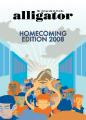 Homecoming Edition 2008: Newspaper Cover Concept and Design